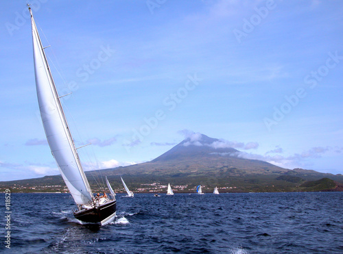 canvas print picture sailing boats