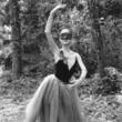 bailarina con máscara
