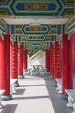 temple corridor poster
