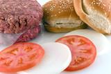 hamburger fixins poster