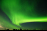 Fototapety large and bright aurora arc
