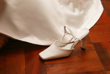 bridal shoe poster