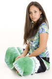 colorful teen 1 poster