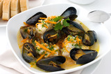 haddock and mussel stew