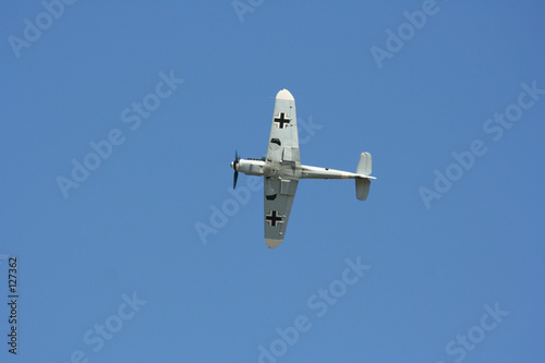 messerchmitt bf 109 en vol