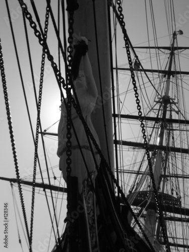 cutty sark black & white