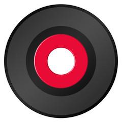 blank 45 rpm record