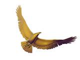 gold eagle poster