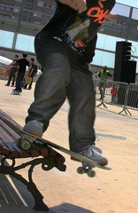 skateboard on bank 1