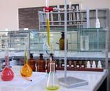 laboratory desk poster