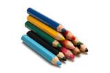 color pencils4 poster