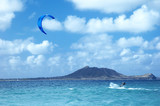 kitesurfing in hawaii poster