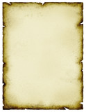 stained parchment poster