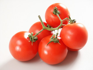tomatoes with branch.