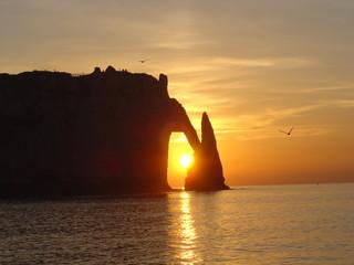 le soleil dans l'arche