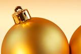 christmas balls background poster