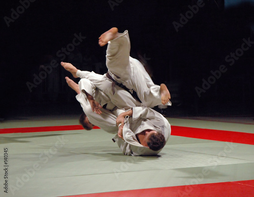 Fotobehang Vechtsport judo fight
