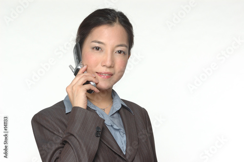 female asian business executive