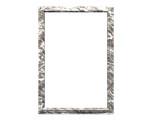 white marble frame poster