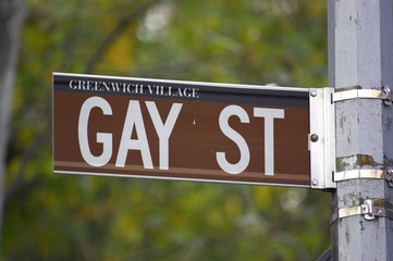 gay street sign