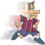 running man poster