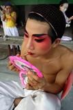 opera performer in makeup poster