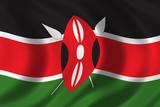 flag of kenya poster