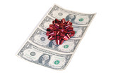 gift of christmas cash poster