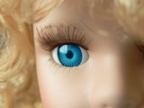 doll eye close up poster
