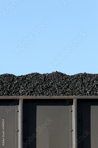 coal in boxcar