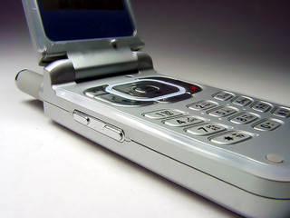 folded cellular phone