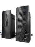 computer speakers poster