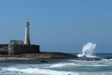 lighthouse on the atlantic coast poster