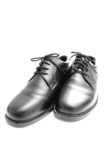 leather shoes poster