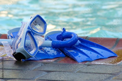 stock photo of pool toys