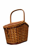 the basket for picnic poster