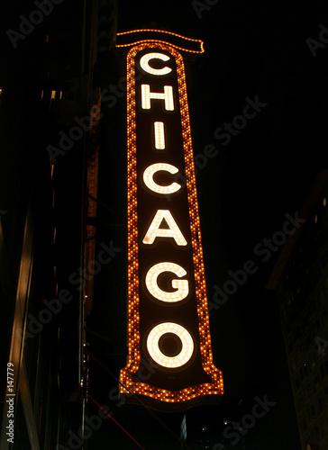 Papiers peints Opera, Theatre chicago theater sign