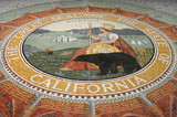 california state seal mozaic poster