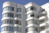 art deco apartment building #1 poster