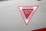 ejection seat warning poster