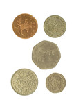 five english coins 2 poster