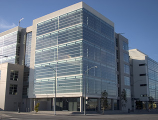 glass tech building