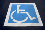 handicap parking spot poster