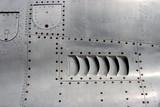 jet airplane skin detail poster