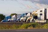line of trucks 2 poster