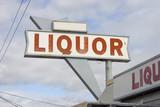liquor store sign poster