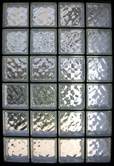 glass brick window