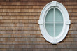 Leinwandbild Motiv oval window