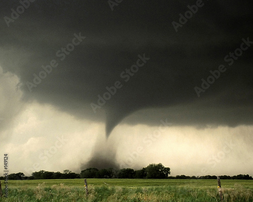 canvas print picture may twister