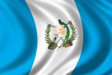 flag of guatemala poster